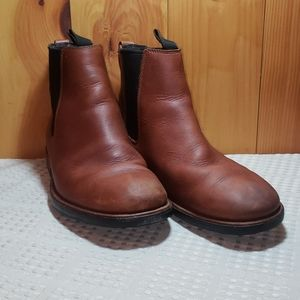 Timberland waterproof mens leather boots size 10